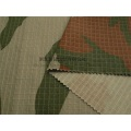 Flame Retardant Nylon Cotton Rip Stop Fabric Camouflage