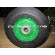 10x2.75 solid rubber wheel for duty wheel barrow/ heavy machine