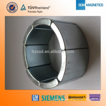 high power Bonded Neodymium arc Magnet permanent magnet Motor Magnet