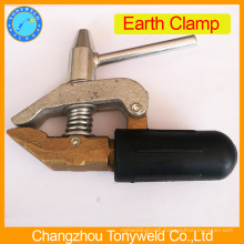 England stype brass earth clamp