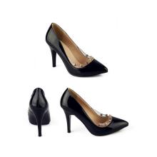 chaussures en cuir haute coupe basse femmes chaussures de bureau