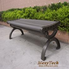 Banc de parc de banc extérieur rue, nouveau matériel mobilier urbain 1500X560X410mm (112 X)