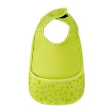 Plain Baby Bibs Waterproof with Snaps