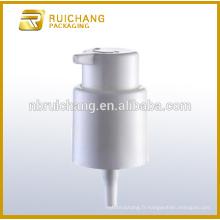 Allumer / éteindre le verrouillage Pompe à lotions en plastique / pompe à crème crème 22mm / distributeur de pompe à lotion