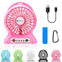 USB Rechargeable Portable Mini Fan with Flash Light