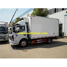 Camiones con caja aislada Dongfeng 150HP