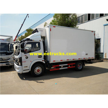 Camions avec caisse isolés Dongfeng 150HP