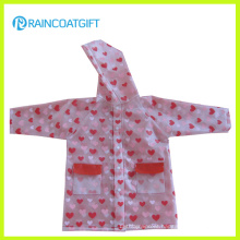 Girls Waterproof EVA Rainwear Rvc-076