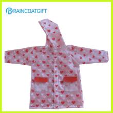 Les filles imperméabilisent les vêtements de pluie d'EVA Rvc-076