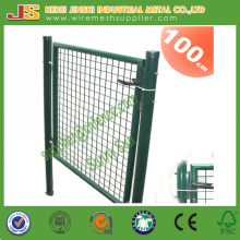 Welded Wire Mesh with Frame and Lock German Decoration Euro Garden Gate