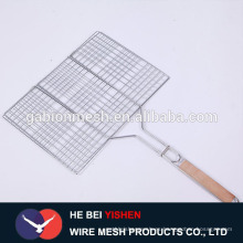 Acero inoxidable desechable galvanizado barbacoa parrilla alambre malla / barbacoa parrilla de la red (fabricante)