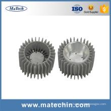El proveedor de China que fabrica la alta presión muere el disipador de calor del aluminio fundido