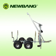 Timber Trailer with Trailer Bed and Winch (KD-T04)