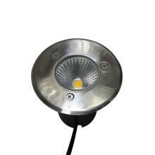 Luz subterránea enterrada LED de acero inoxidable de 3W