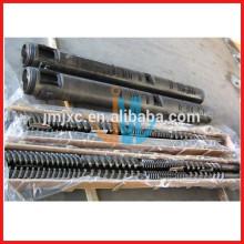 Parallel twin screw barrel/Twin screw barrel for plastic extrusion