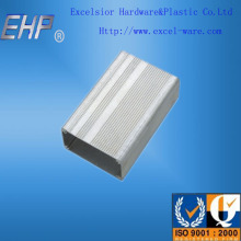 OEM aluminum extrude enclosure with varies surface treatments for electronic enclosure