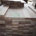 Tablero sólido nogal americano inacabado cruda para los muebles