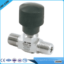 female/male NPT threads brass needle valve