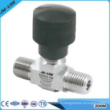 female/male NPT threads brass needle valve