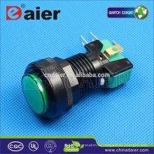 Daier pulsador microinterruptor iluminado pulsador