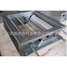 Beste Qualitäts-Aluminium-Luft-Entlüftungs-Lautstärkeregler-Dämpfer für HVAC System-Rollen-Umformmaschine Lieferanten Vietnam