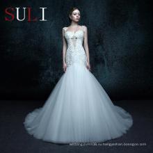 ZXB16 кружева Русалка свадебные платья онлайн свадебное платье свадебное платье 2016