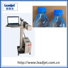 Wuhan Leadjet CO2 Laser Marking Machine for Plastic Bottle