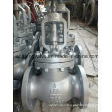 Carbon Steel Flansch End Globe Valve