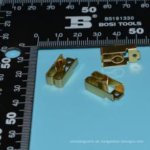 Kupferteile Blatt Meta Metallverarbeitung