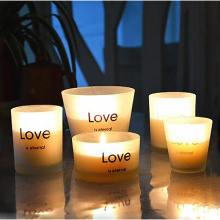 Glass Jar Soy Candles Decorative
