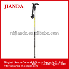 CARE climbing equipment trekking poles, walking stick(JD-3D-014)mountaineering flexible antishock telescopic aluminum adjustable