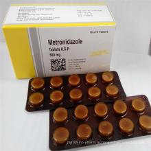 500 мг Фармацевтические таблетки-метронидазол
