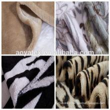 Chine Alibaba, couverture en gros de molleton de corail de polyester, couverture coréenne