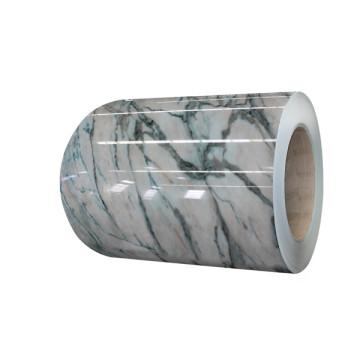 Stahlblech mit Marmoroberfläche