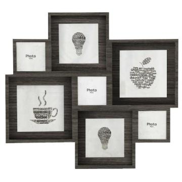 Combination  wood photo frame