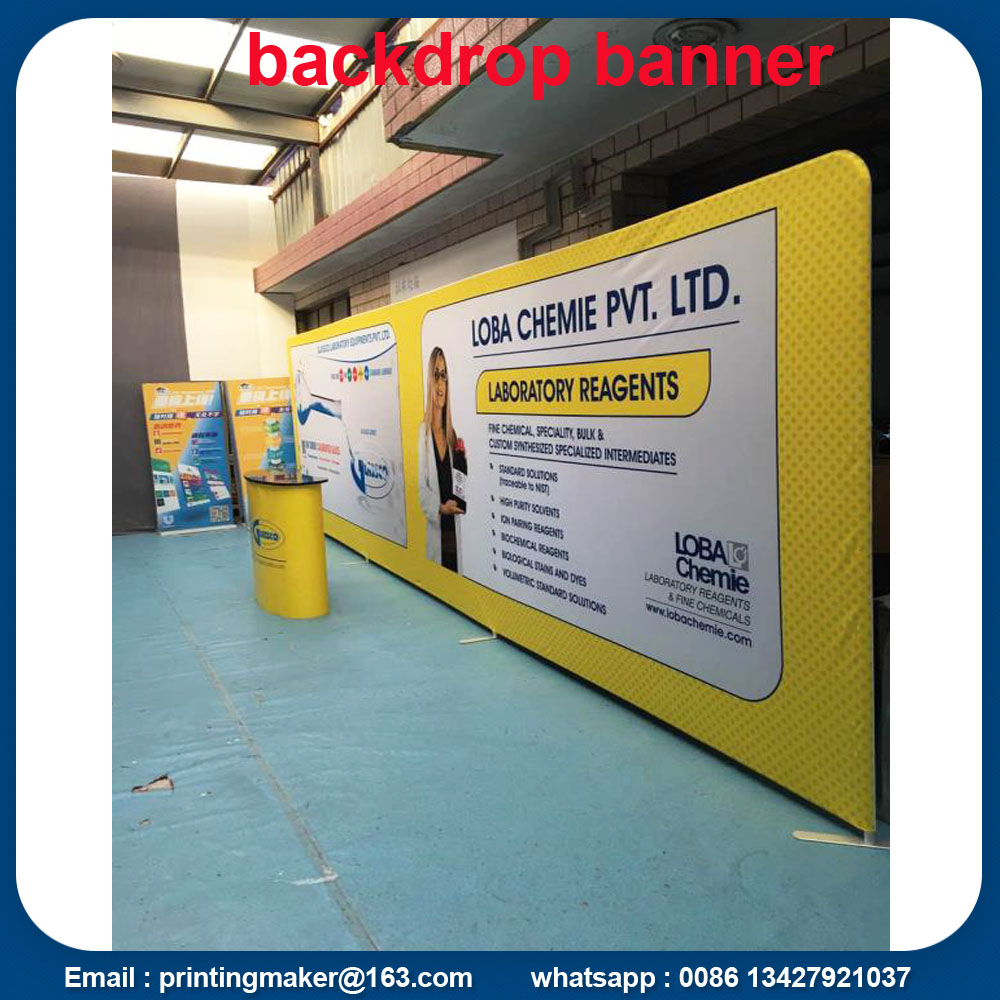 Fabric Tube Backdrops
