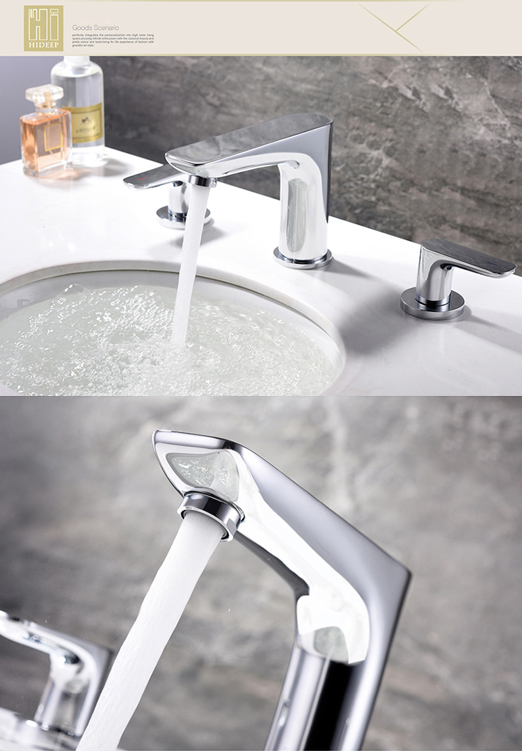 Brass Chrome Basin Mixer