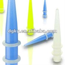 Acrylic ear expander cheap ear taper