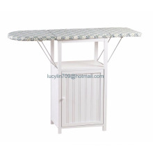 Deluxe Ironing Board with Storage Cabinet