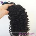 Fabrik-Jungfrau-Menschenhaar-lockige Haarteile