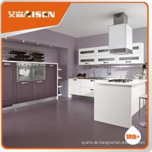 Hochwertiger hölzerner Kücheschrank hölzerne Farbe PVC-Membranküche