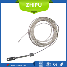 Tungsten wire rope soft shaft high temperature resistance