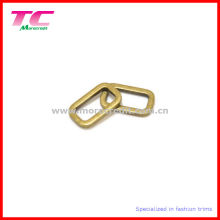Solid Anti Brass Metal Oval Loop for Bag