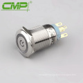 Metal LED Switch Latching Push Button
