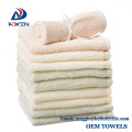 Soft face towels 100% organic bamboo baby face washers/ baby washcloth