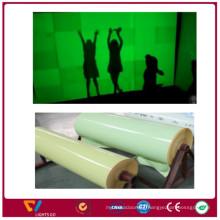 PVC cuttable printable self-adhesive rigid night glow photoluminescent Glow in the dark plastic sheet board