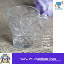 Tasse à la bière avec bon prix Verre à café en verre Kb-Jh6011