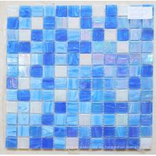 Mosaique De Verre Azul