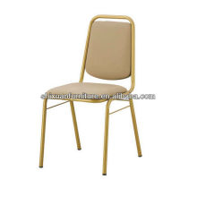 High quality chromed pu leather conference chair