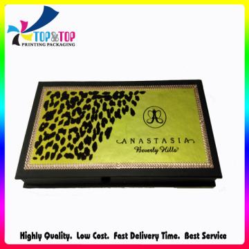 China fabricante de lujo de OEM de diseño sombra de ojos caja de embalaje de papel